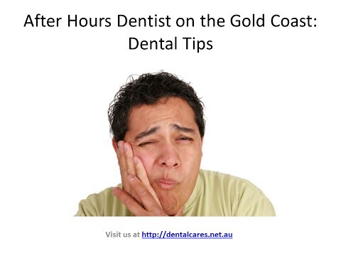 Emergency or After hours dentist on the Gold Coast