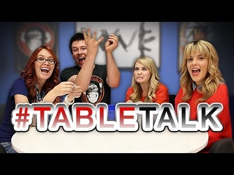 Grace Helbig, Mythical Creatures, and A**hole Teachers - #TableTalk