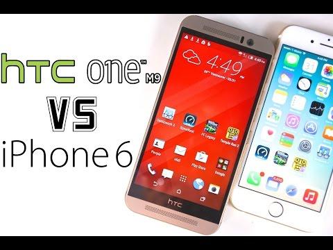 HTC One M9 VS iPhone 6 - Ultimate Full Comparison