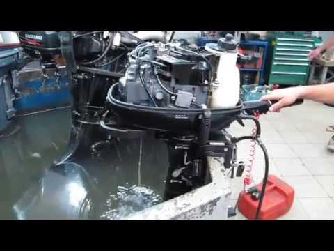 как прочистить систему охлаждения лодочного мотора