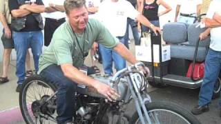 Rare Classic Harley 8 Valve Racer Motorcycle - Dave Fusiak