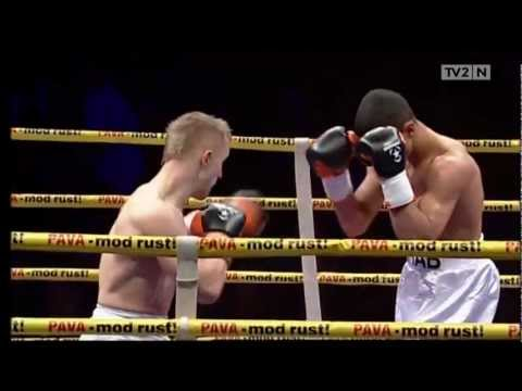 Abdul Khattab - Pro Boxing Debut - April 2012 - Aalborg, Denmark!