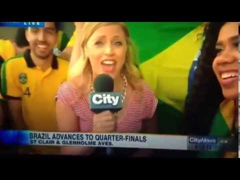 fuck Her Right In The Pussy, Brazil Vs Chile World Cup 2014 Fan video