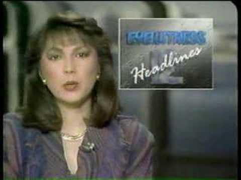 WPEC TV West Palm Beach, Florida 1988 ID News Open