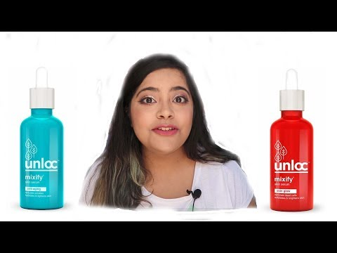 Unloc Mixify Face Serum | Glow and Anti Ageing | Brutally Honest Review