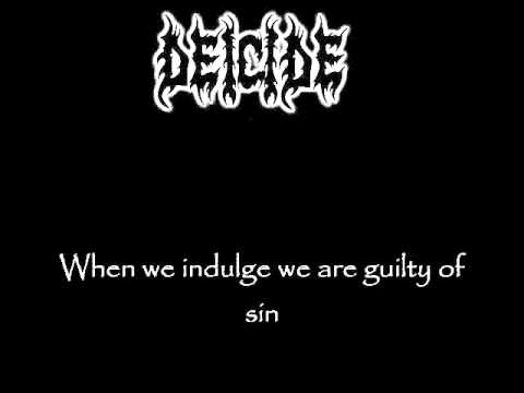 Deicide - Blame It On God