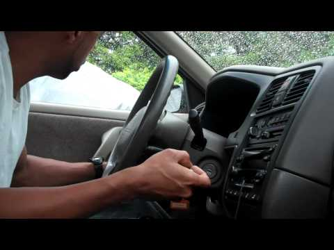 How to program key on Infiniti G20