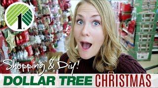 DOLLAR TREE CHRISTMAS SHOP WITH ME! 🎄 DIY & stocking stuffers galore!