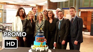"""Law and Order SVU 18x10 Promo #3 """"Motherly Love"""" (HD) - 400th Episode"""