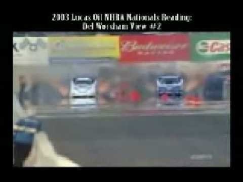 Drag Racing Crashes - The copyright owner has claimed the music of this video Video