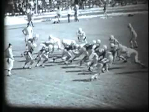 Benson (MN) Braves High School football vs Morris, fall 1970