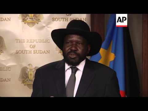 Sudan's President al-Bashir meets Salva Kiir; urges both sides in SSudan to negotiate
