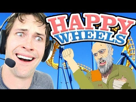 Happy Wheels - Rollercoaster video