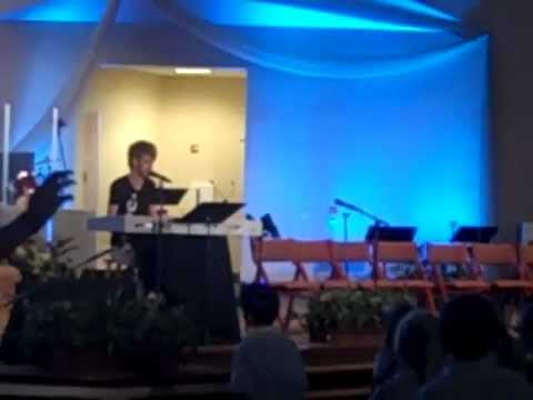 Colton Dixon Performing at Mission Hills Christian School