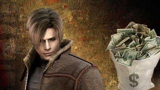 Resident Evil 4 money farming (infinite ptas)