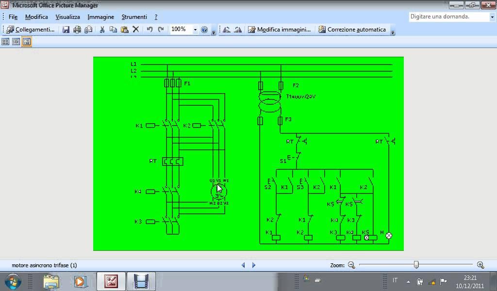 Schemi Avvolgimenti Motori Elettrici : Avviamento stella triangolo e inversione di marcia un