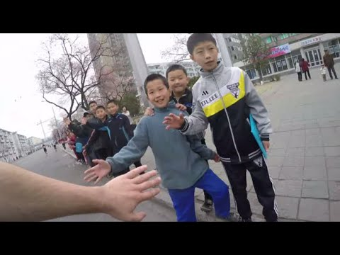 North Korea GoPro: What it's like to run a marathon through Pyongyang