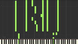 Law Order Theme By Mike Post Piano Tutorial