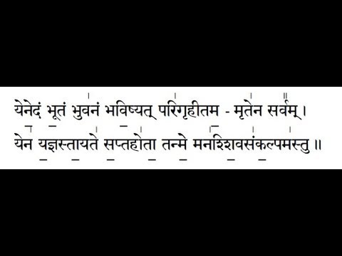 Shiva Sankalpam Mahanyasam Chapter 6 With Text video
