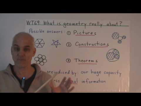 WT69: What is geometry really about?