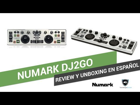 Review y unboxing en español Numark DJ2Go   TecnologiaDJ.com