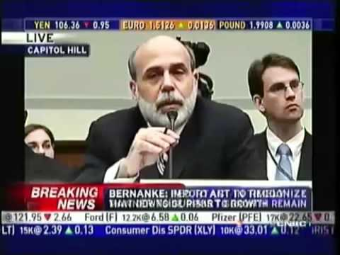 2012 RON PAUL vs. BEN BERNANKE - 3 Brutal Rounds