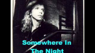 Watch Tommy Shaw Somewhere In The Night video