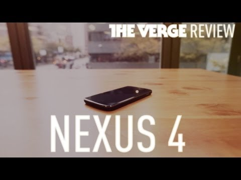 Nexus 4 hands-on review