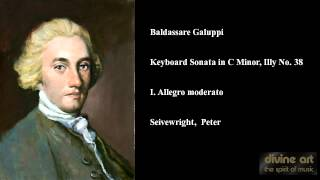 Baldassare Galuppi, Keyboard Sonata in C Minor, Illy No. 38, I. Allegro moderato