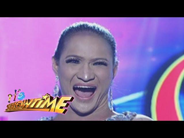 It's Showtime: Princess Khim Santillan's dentures fall