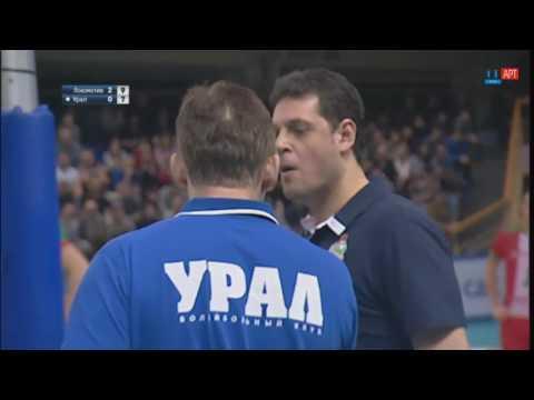 Интересный розыгрыш в матче «Локомотив» – «Урал»