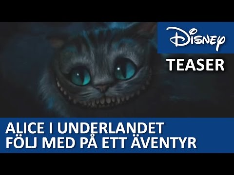 Alice In Wonderland teaser trailer - official trailer