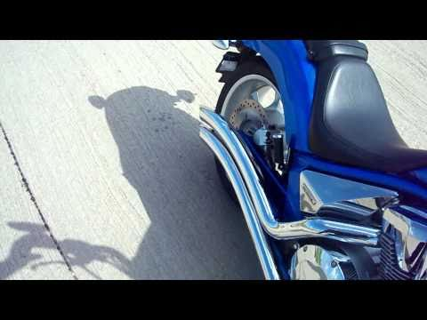Honda Fury Cobra swept exhaust walk around