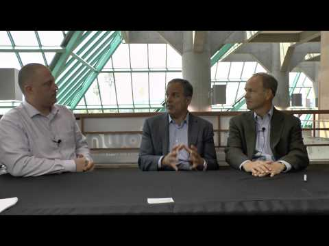 Flash Memory Summit 2014 - John Scaramuzzo and Lee Caswell from SanDisk