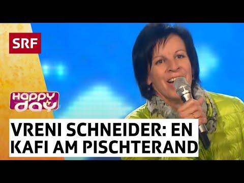 Happy Day - Vreni Schneider mit «En Kafi am Pischterand»