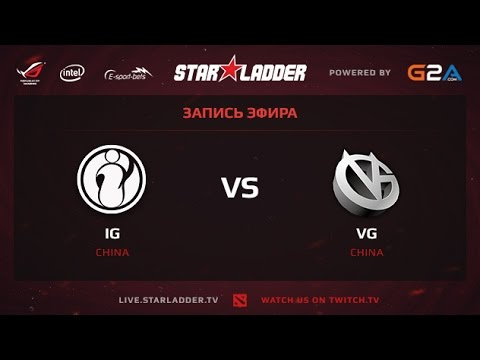 IG vs VG SLTV XII Lan Finals WB Finals Game 2
