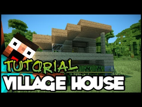 Minecraft Tutorial HD: Simple Village House