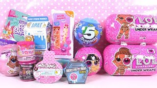 Jouets Surprises Poupées LOL Pets, Under Wraps, Num Noms
