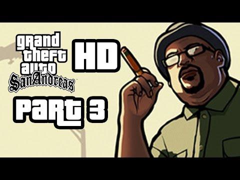 GTA San Andreas HD Walkthrough Part 3 DRIVE THRU WORKOUT CLOTHES Remastered Gameplay