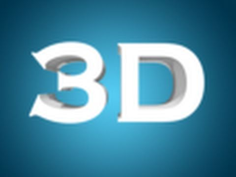 Create 3D Text in Photoshop CS5