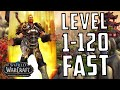 [WoW: BfA 8.0] BfA 1-120 Leveling Guide - Level Alts FAST
