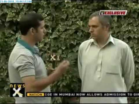 Exclusive: Omar Abdullah vows to check human rights violations in J&K Part 1