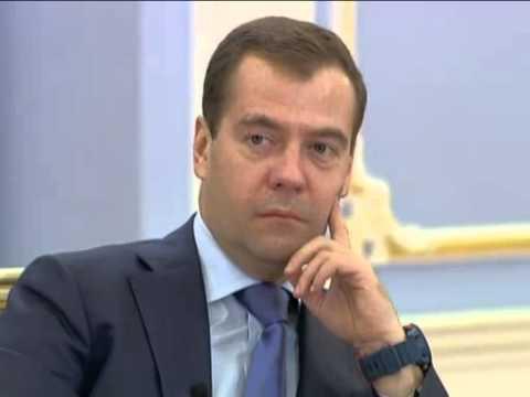 Nov 3, 2012 Russia_Medvedev meets winners of international student Olympiads
