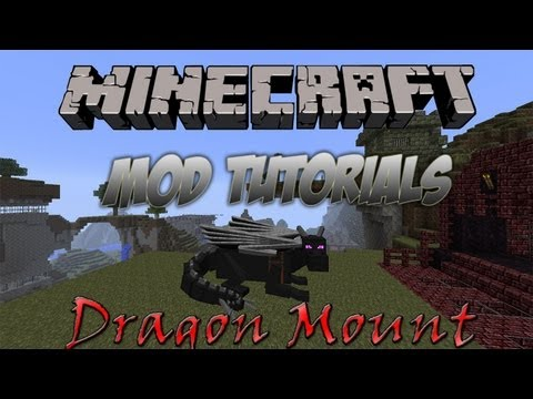 Minecraft 1.5.2 - How To Install The Dragon Mounts Mod