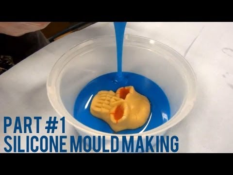 How To Reproduce Parts With Silicone Mould - Part 1 Silicone Mouldmaking