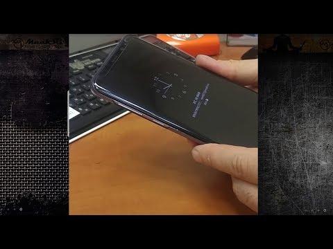 Samsung S8+ и силиконовая пленка на экран