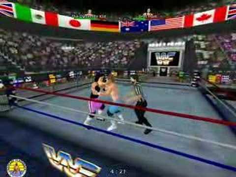 KF: Bret Hart vs. Dynamite Kid