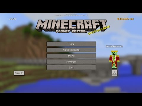 Minecraft PE 2.0 | MCPE 2.4.4 UPDATE RELEASED!?! + GAMEPLAY & FULL REVIEW!! (Pocket Edition)