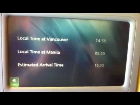 PINOY TRAVEL Ep.3 : Manila - Vancouver via Philippine Airlines Boeing 777-300 Part 3/3