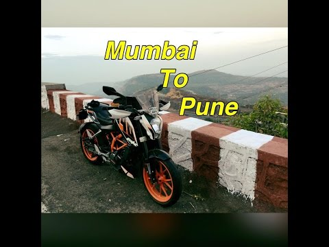 Mumbai to Pune | By road | KTM Duke 390